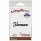 "CottageCutz Expressions Die 1.9""x.6"" - Shower"