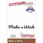 CottageCutz Expressions Die - Make A Wish