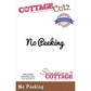 CottageCutz Expressions Die - No Peeking