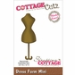 "CottageCutz Mini Die 1.75""x1.75"" - Dress Form"