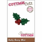 "CottageCutz Mini Die 1.75""x1.75"" - Holly Berry Made Easy"