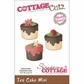 "CottageCutz Mini Die 1.75""x1.75"" - Tea Cake Made Easy"