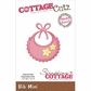 CottageCutz Mini Die - Bib
