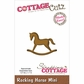 CottageCutz Mini Die - Rocking Horse