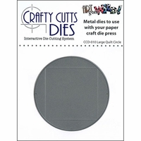 Crafty Cutts Metal Die - Large Quilt Circle