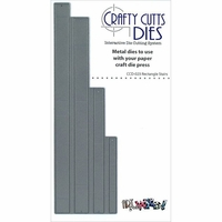 Crafty Cutts Metal Die - Rectangle Stairs