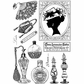 Crafty Individuals Unmounted Rubber Stamp - A Lady's Boudoir