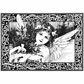 Crafty Individuals Unmounted Rubber Stamp - An Adorable Christmas Angel