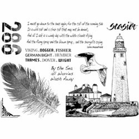 Crafty Individuals Unmounted Rubber Stamp - Call Of The Sea