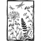Crafty Individuals Unmounted Rubber Stamp - Dancing Dragonflies
