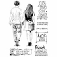 Crafty Individuals Unmounted Rubber Stamp - Just Be My Friend