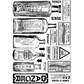 Crafty Individuals Unmounted Rubber Stamp - Poison and Danger