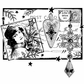 Crafty Individuals Unmounted Rubber Stamp - Postcard For Christmas
