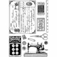 Crafty Individuals Unmounted Rubber Stamp - Sewing Notions
