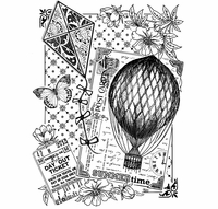 Crafty Individuals Unmounted Rubber Stamp - Summertime