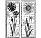 Crafty Individuals Unmounted Rubber Stamp - Tall Wild Flowers