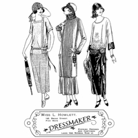 Crafty Individuals Unmounted Rubber Stamp - The Dressmaker