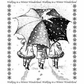 Crafty Individuals Unmounted Rubber Stamp - Winter Wonderland