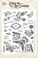 Crafty Secrets Clear Art Stamp - Large/Cupcake Party