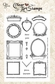 Crafty Secrets Clear Art Stamp - Medium/Mini Frames