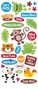 Creative Imaginations Studio Basics 101 - Animal Mania Jumbo Stickers