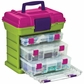 "Creative Options Grab'n Go 3-By Rack System 13""x10""x14"" - Green/Magenta"