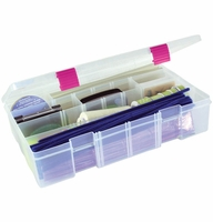 Creative Options Pro Latch Deep Utility Box - Clear/Magenta