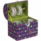 Creative Options Treasure Trunk - Magenta/Green/Purple