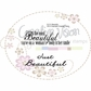"Creative Vision Clear Stamps 2""x2"" - Beautiful"