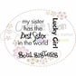 "Creative Vision Clear Stamps 2""x2"" - Soul Sister"