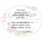 """Creative Vision Clear Stamps 2""""x2"""" - Wrong Choices"""