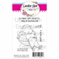 """Creative Vision Clear Stamps 3""""x4"""" - Exercise Ball"""