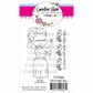 "Creative Vision Clear Stamps 3""x4"" - Wiggle"