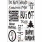 "Creative Vision Clear Stamps 4""x6"" - Happy Camper"