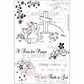 "Creative Vision Clear Stamps 4""x6"" - Time For Prayer"