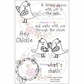 "Creative Vision Clear Stamps 4""x6"" - What's Shakin"