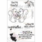 "Creative Vision Clear Stamps 4""x6"" - You're Nuts"