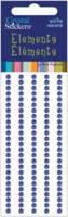 Crystal Stickers - Elements/3mm Round/Royal Blue