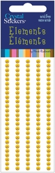 Crystal Stickers - Elements/3mm Round/Yellow - Click to enlarge