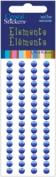 Crystal Stickers - Elements/5mm Round/Royal Blue - Click to enlarge