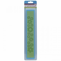 "Cuttlebug 12"" Border Embossing Folder - Botanicals - Click to enlarge"