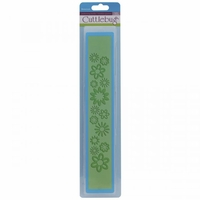"Cuttlebug 12"" Border Embossing Folder - Botanicals"