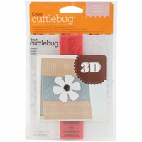 Cuttlebug 3D A2 Embossing Folder/Border Set - Gingham