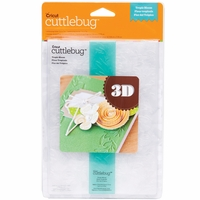 "Cuttlebug 5""x7"" 3-D Embossing Folder/Border Set - Tropic Bloom"