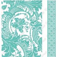 "Cuttlebug 5""x7"" Embossing Folder/Border Set - Anna Griffin Acanthus"