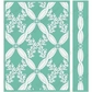 "Cuttlebug 5""x7"" Embossing Folder/Border Set - Anna Griffin Climbing Rose"