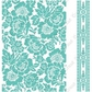 "Cuttlebug 5""x7"" Embossing Folder/Border Set - Anna Griffin Poppy"