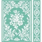 "Cuttlebug 5""x7"" Embossing Folder/Border Set - Anna Griffin Rose Pavilion"