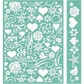"Cuttlebug 5""x7"" Embossing Folder/Border Set - Anna Griffin Smitten"