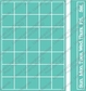 "Cuttlebug 5""x7"" Embossing Folder/Border Set - Calendar"